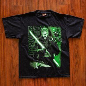 Vintage Star Wars Darth Maul Graphic T-Shirt